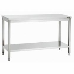 Table travail sans dosseret avec sous etageres 600, L1400