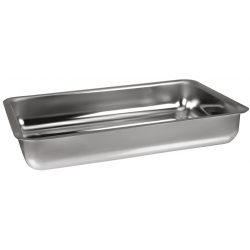 Gratin rectangle 30 cm INOX
