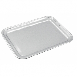 Plateau rectangle 32x26 cm INOX