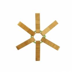 Dessout plat bambou silicone