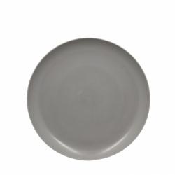 Assiette 21 cm taupe BONNY