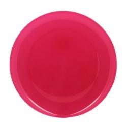 Assiette 25 cm rose BONNY