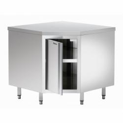 Armoire d'angle sans dosseret avec etagere intermediaire 900