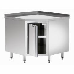 Armoire d'angle avec  dosseret avec etagere intermediaire 900