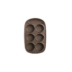 Moule à muffins par 6