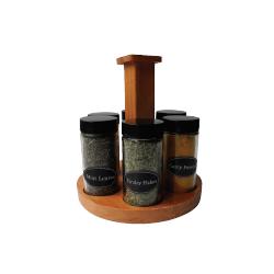 Carroussel bois 6 pots