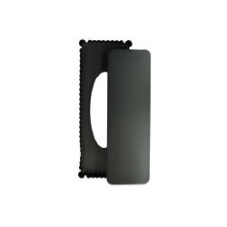 Moule à tarte rectangulaire 35.5 x 13 cm en acier