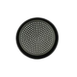 Moule à tarte rond perforé 32 cm en acier