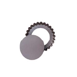 Moule à tartelette à fond amovible rond 10 cm Asimetria