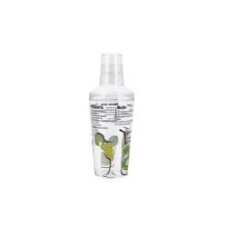 Shaker acrylique 50 cl