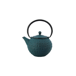 Théière en fonte turquoise 1 L Nara