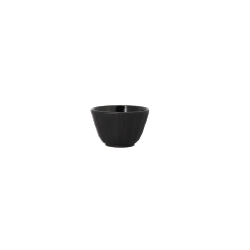 Lot de 4 tasses noires en fonte 12 cl