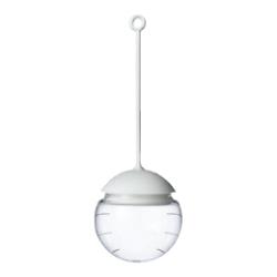 Tea globe, infuseur en verre tige en silicone