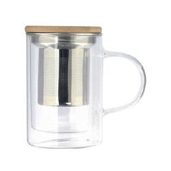 Mug 39 cl en verre et double paroi