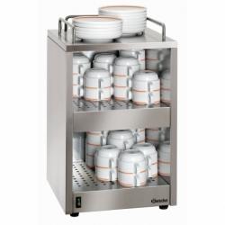 Chauffe-tasses pour 72 tasses