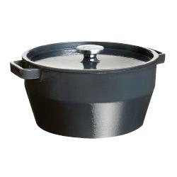 Cocotte ronde avec couvercle 24 cm Slow cook