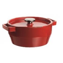 Cocotte ronde avec couvercle 28 cm Slow cook