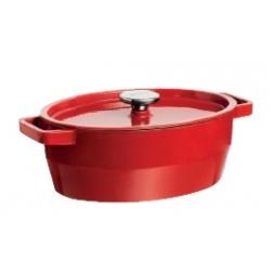 Cocotte ovale avec couvercle 33 cm Slow cook