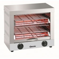 Appareil a toaster/gratiner, double