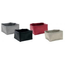Corbeille couleur ciment 12 cm