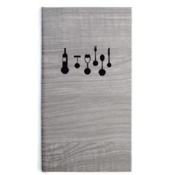 Porte menu 16 x 28.5 cm Cassat