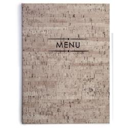 Porte menu 23 x 32 cm  Millet 4 feuilles