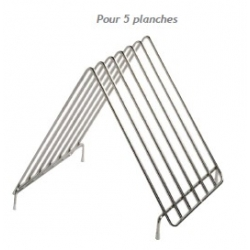 Range planche inox