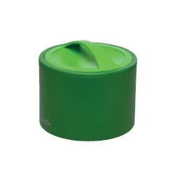 Contenant repas isotherme vert Bento