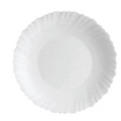 Assiette plate 25 cm Festons