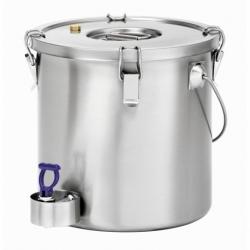 Conteneur isotherme 20L pour le transport des aliments robinet de purge et protection du robinet
