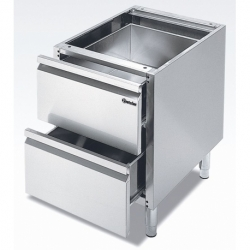 Soubassement avec 2 tiroirs