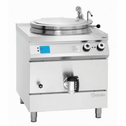 Marmite electrique 135L chauffe indirecte avec controle automatique du niveau d'eau