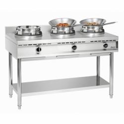 Cuisiniere a wok a gaz GWH3