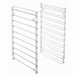 Set de deux supports glisssieres aux normes patissieres pour utilisation des 10 plaques 600x400