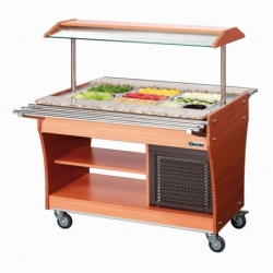 Chariot buffet froid, 3x1/1GN, P150