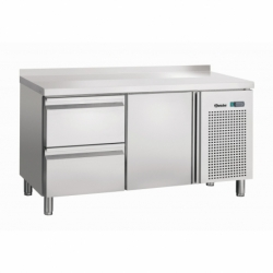 Table refrigeree, froid ventile, 1T, 2SI, releve