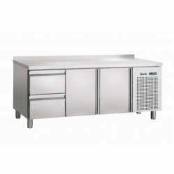 Table refrigeree froid ventile, 2T, 2SL, releve