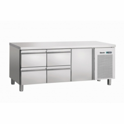 Table refrigeree, froid ventile, 1T, 4SL