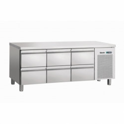 Table refrigeree, froid ventile, 6SL