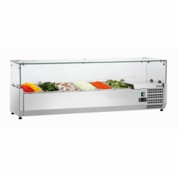 Presentoir refrigere GL4 6 x GN 1/4