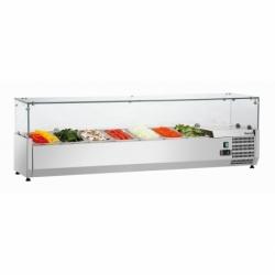 Presentoir refrigere GL4 7 x GN 1/4