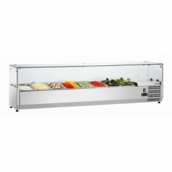 Presentoir refrigere GL4 8 x GN 1/4