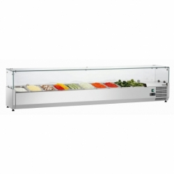 Presentoir refrigere GL4 10 x GN 1/4
