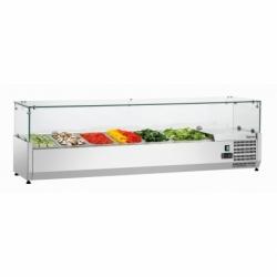 Presentoir refrigere GL3 5xGN1/3+1xGN1/2