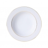 Assiette creuse 22,5 cm CLASSIC Filet OR