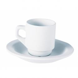 Tasse grès blanc 9 cl