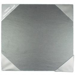 Assiette carré 25x25 cm ARDOISE