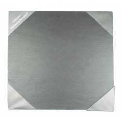 Assiette carré 20x20 cm ARDOISE