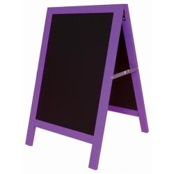 Chevalet arlequin violet