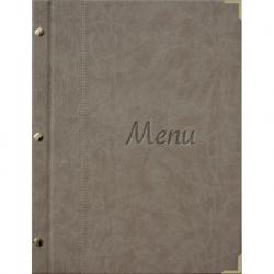 Protège menu MURANO beige